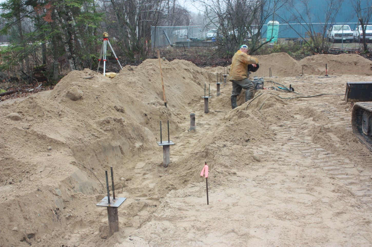We install helical screw piles for foundations, deck and docks
